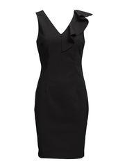 VIFRILL S/L DRESS - Black