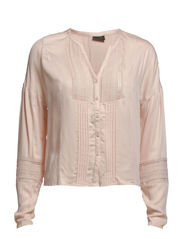 VITUR L/S SHIRT - Peach Blush