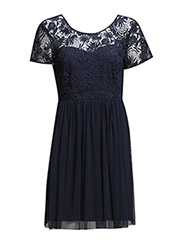 VIULRIKKA DRESS - Black Iris