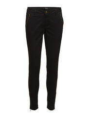 VIOLLAY 7/8 ZIP PANT/1 - Black