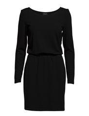 VILISE L/S DRESS #G - Black
