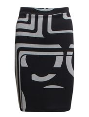 VIESSENTIAL SKIRT#A - Black