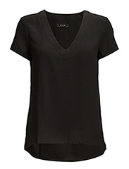 VINECK S/S TOP - Black