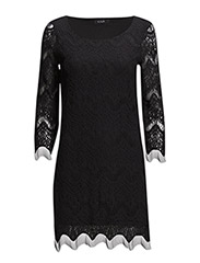 VIEMBROYDA DRESS - Black