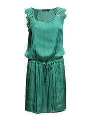 VILOTTINA DRESS - Deep Green