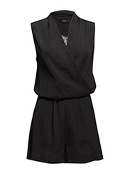 VIASSI PLAYSUIT - Black