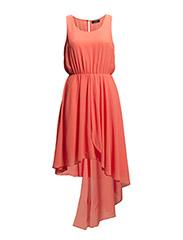 VIFOREST DRESS - Hot Coral