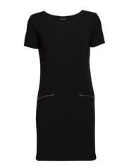 VISTINNY ZIP DRESS/1 - Black