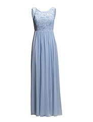 VIULRIKKA MAXI DRESS - Chambray Blue