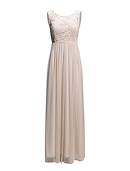 VIULRIKKA MAXI DRESS - Peach Blush