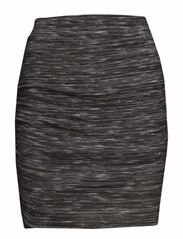 VINIANNE WRAP SKIRT/1 - Medium Grey Melange
