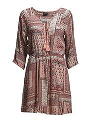 VITANNY DRESS - Apricot Blush