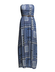 VITANNY LONG DRESS - Chambray Blue