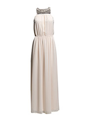 VICARLOT MAXI DRESS - Peach Blush