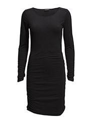 VITRINE L/S DRESS/1 - Black