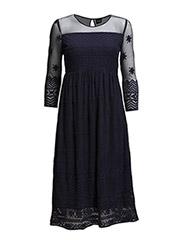 VISTELLA DRESS - Black Iris