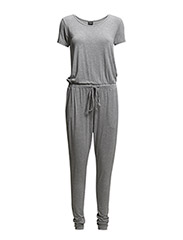 VITILDA JUMPSUIT - Light Grey Melange