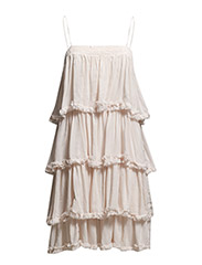 VIALLO DRESS - Peach Blush