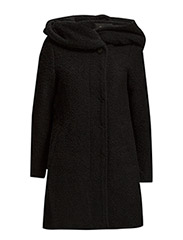 VICAMA FAVORED COAT - Black