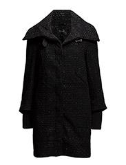 VIBBE COAT - BLACK