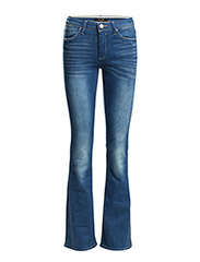 VICALM RW 5P FLARED HK0059 MB - Medium Blue Denim