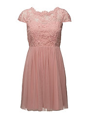 VIULRICANA SHORT DRESS/STU - BRIDAL ROSE