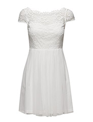 VIULRICANA SHORT DRESS/STU - SNOW WHITE