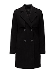 VIMAJA  COAT H - BLACK