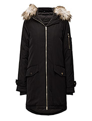 VIJALA DOWN COAT-NOOS - BLACK