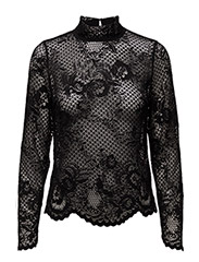 VILA - Viloras L/S Lace Top-Noos
