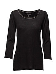 VIVOILA 3/4 DETAIL TOP VOL - BLACK