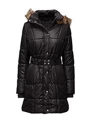 VIFUXINA PADDED COAT/1 - BLACK