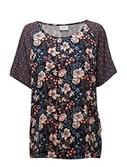 VIBLOSSOM S/S TOP - TOTAL ECLIPSE