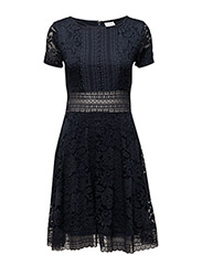 VINORTH S/S DRESS - TOTAL ECLIPSE