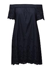VIGIRLY OFF-SHOULDER DRESS - TOTAL ECLIPSE