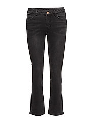 VIBARCHER RW 5P MICROFLARED JEANS - BLACK