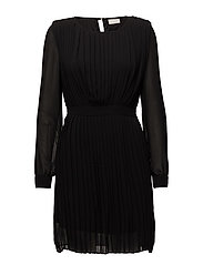 VIMILLIE L/S DRESS GV - BLACK