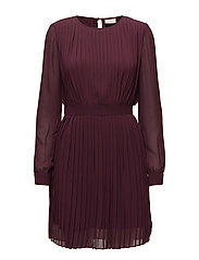 VIMILLIE L/S DRESS GV - FIG