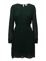 VIMILLIE L/S DRESS GV - PINE GROVE