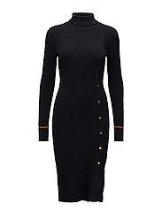 VISOLDANA L/S KNIT DRESS - DARK NAVY