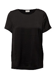 VICAVA S/S TOP-NOOS - BLACK