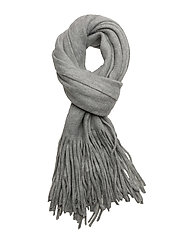 VIAMAZING KNIT SCARF - LIGHT GREY MELANGE