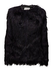 VIPOPPY FAUX FUR JACKET - ASTRAL AURA
