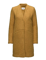 VITEA WOOL BOUCLE JACKET PB - NUGGET GOLD