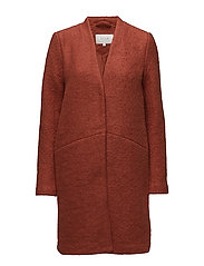 VITEA WOOL BOUCLE JACKET PB - ROOIBOS TEA