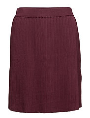 VIPLISSANI KNIT SKIRT/GV - FIG