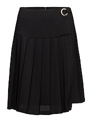 VISEALO PLEATED SKIRT - BLACK