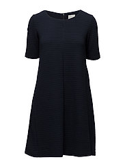VICARO A-SHAPE JERSEY DRESS-NOOS - TOTAL ECLIPSE