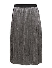 VISILVI MIDI SKIRT - SILVER COLOUR