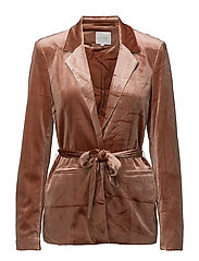 VIALIANA BLAZER - COPPER BROWN